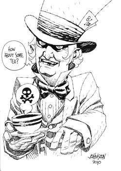 Mad Hatter con sketch