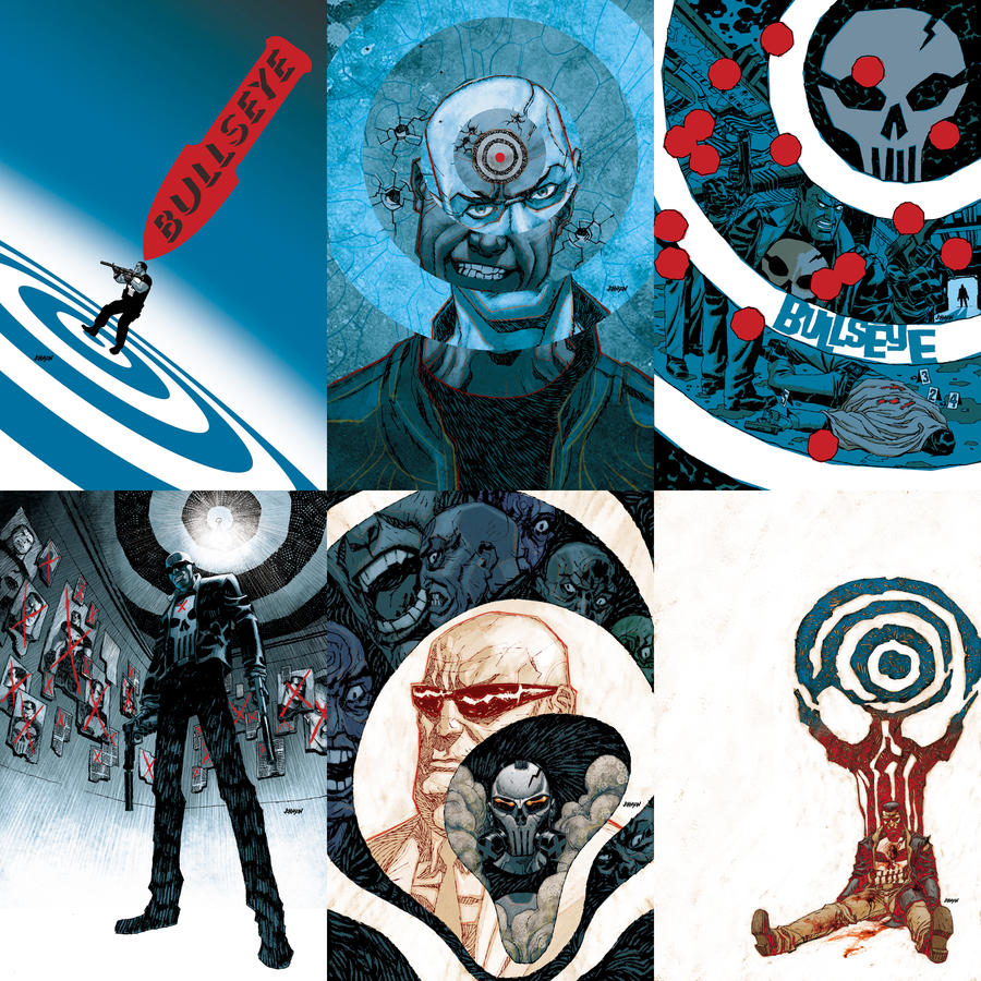 All_the_Bullseye_covers_by_Devilpig.jpg
