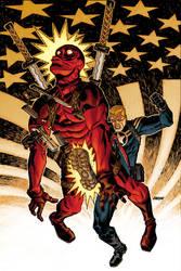 Deadpool no. 28 by Devilpig