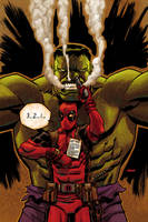Deadpool 37 by Devilpig