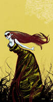 Black dress colored by Devilpig