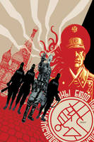 B.P.R.D. Russia No. 1 cover by Devilpig