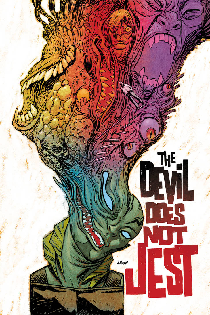 Abe Sapien no.2 Devil does not