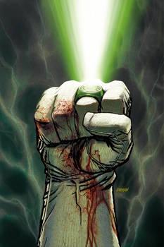 Green Lantern cover part 2