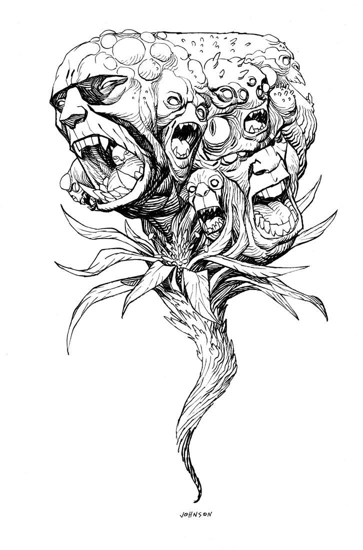 DDSC Zombie flower by Devilpig