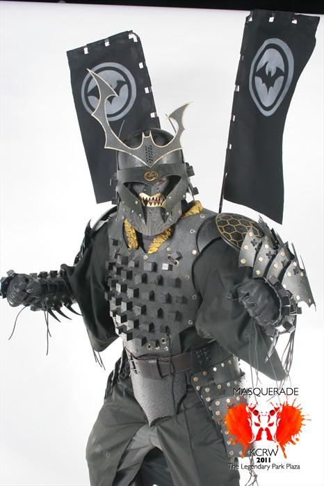 Another shot of Batman Samurai by Devilpig