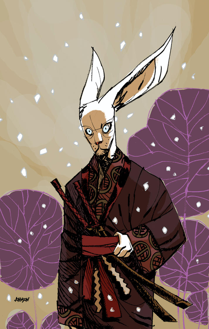 Usagi Yojimbo for Comic Twart by Devilpig