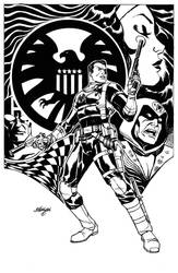 Nick Fury commission 2of 2