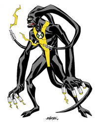 Ben10 Omniverse Feedback Alien design by Devilpig
