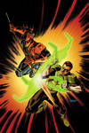 Deathstroke VS Green Lantern
