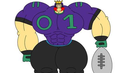 Quarterback Queen by FrostGhidorah
