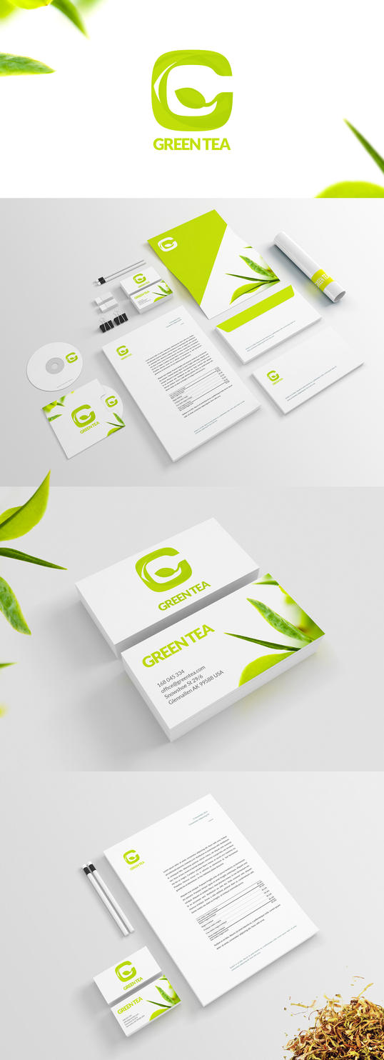 Green Tea - Branding by Nablo92