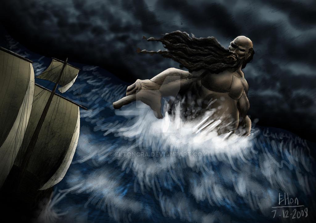 Gigante Adamastor (Adamastor Giant) by EltonCRA