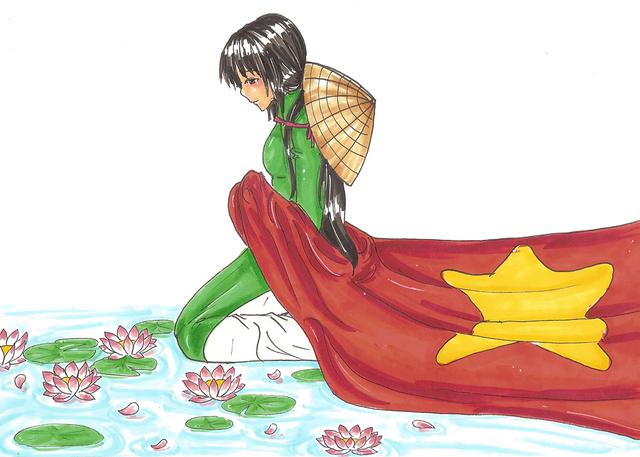 -Hetalia-Vietnam Pride by sirenlovesyou