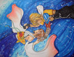 Yuna and Tidus -Commision-