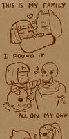 -Undertale-This Is My Family by sirenlovesyou