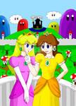 Princess Peach and Daisy