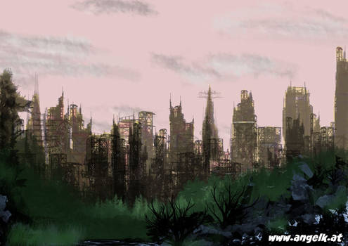 Speed Paint- Cityscape