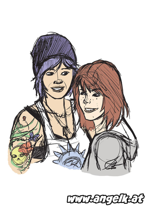 Life is Strange: Chloe and Max
