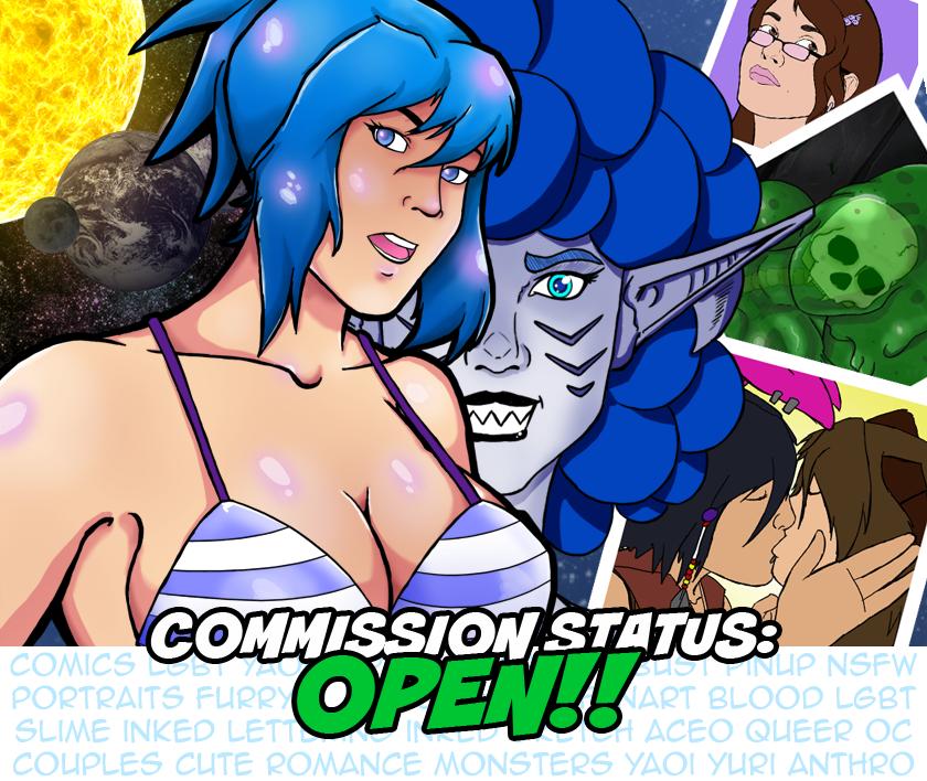 Commission-status by slicedguitars