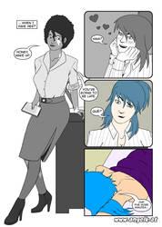 Hier Spirits episode 01 page 02 by slicedguitars
