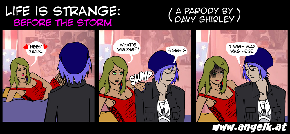 Life is Strange: Before the Storm (A Parody) #1 by slicedguitars