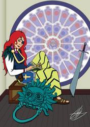 SunnyCon VIP Gijinka Art Book: Durham Cathedral by slicedguitars