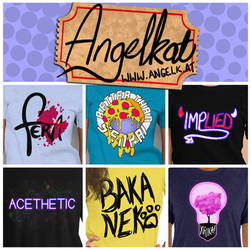 angelKat T-Shirt Designs Summer 2019