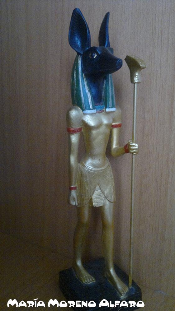 The Egyptian God of the Dead: Anubis the Black Jackal