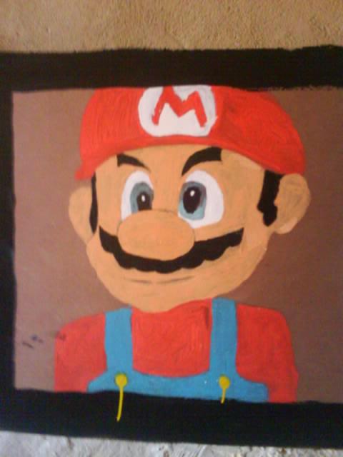 Super Mario by eldesastredemaria