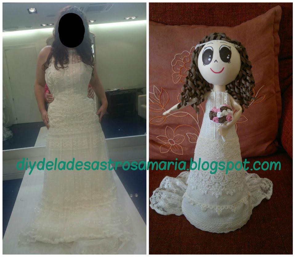 Diydeladesastrosamaria Comparacion vestido by eldesastredemaria