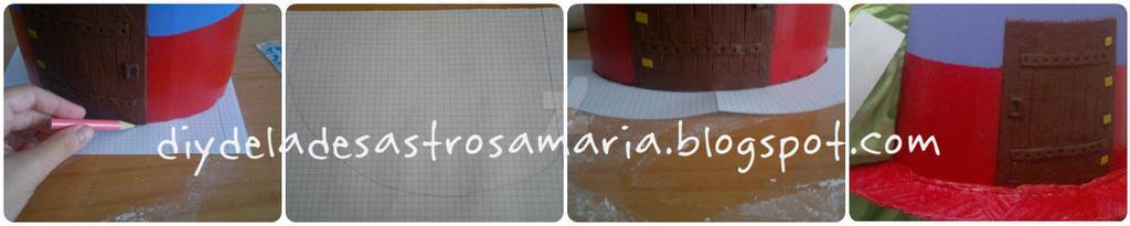 diydeladesastrosamaria suelo para teja by eldesastredemaria