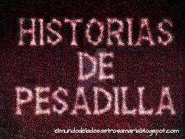 Cabecera Historias de pesadilla by eldesastredemaria
