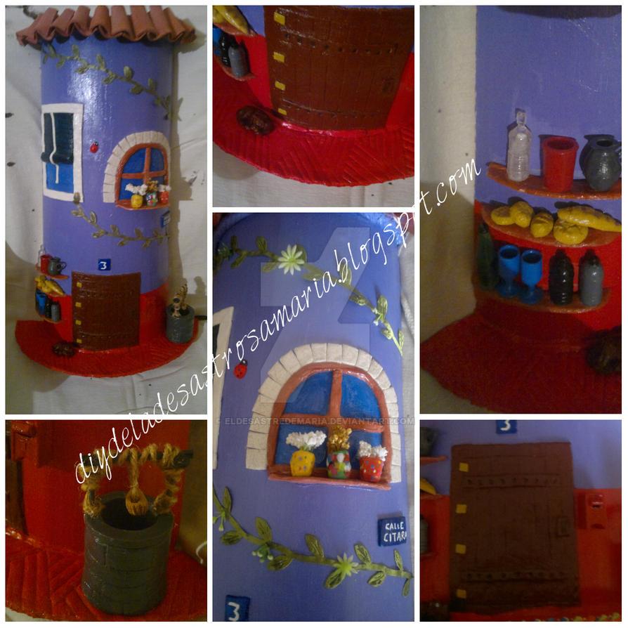 Teja decorada con servilletas papel de arroz y otros - Pintura para tejas ...