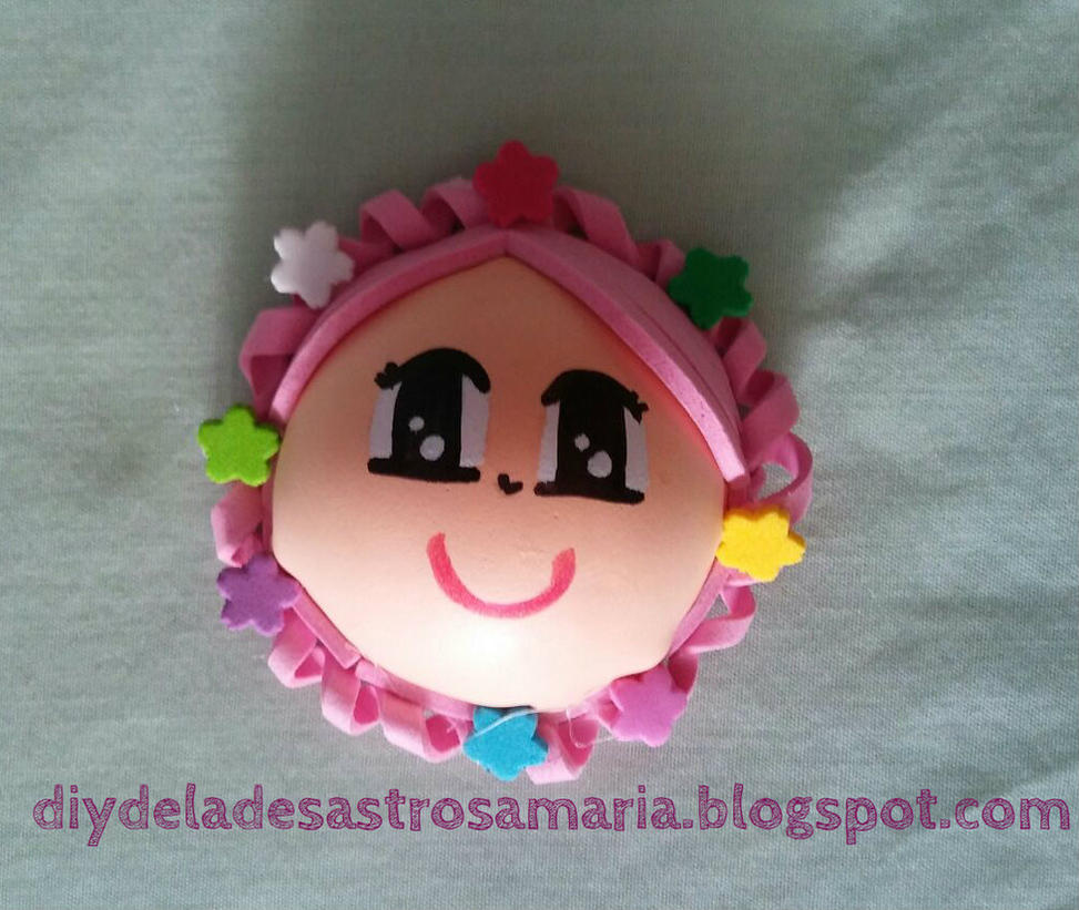 diydeladesastrosamaria Fofucha Rosa by eldesastredemaria