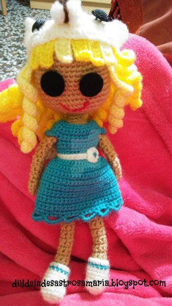 Amigurumi doll by eldesastredemaria