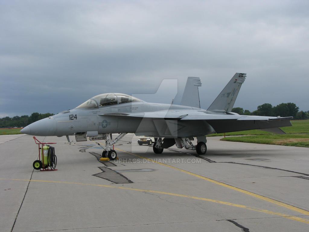FA-18F Super Hornet VFA-122 by Qphacs