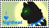 'Nightheart' stamp by Rjnox