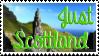 'Just Schottland' Stamp by Rjnox