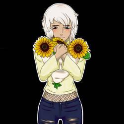 IQ-sunflower by Ale-Hoku