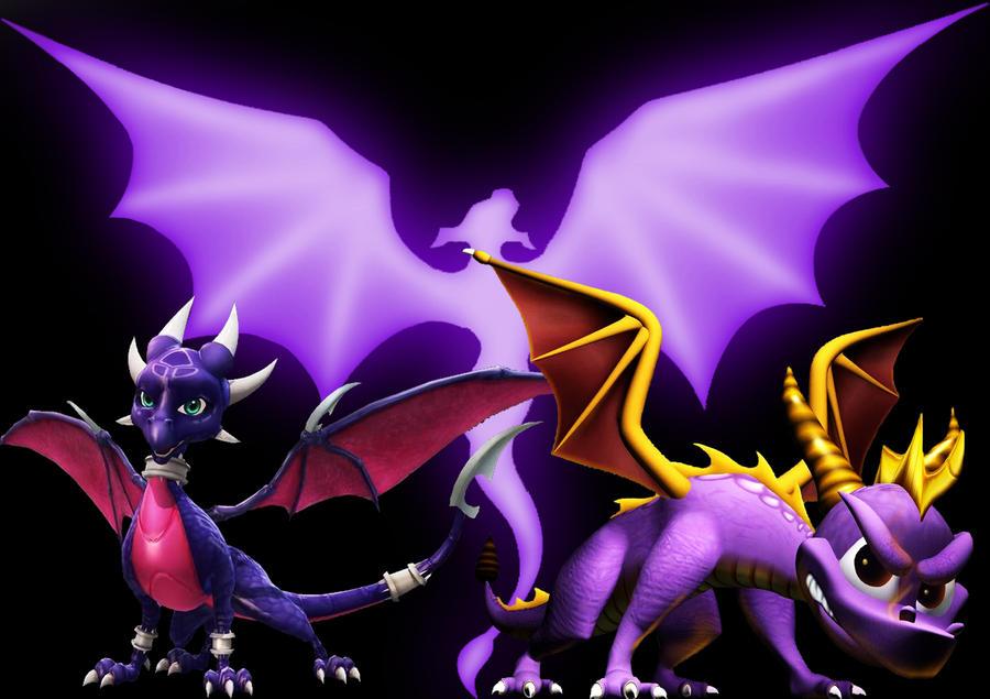 Spyro Wallpaper By LeoXleite