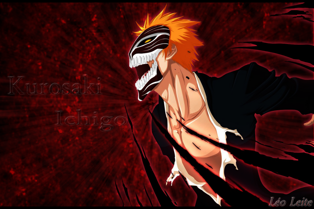 Kurosaki Ichigo hollow mask by LeoXleite on DeviantArt
