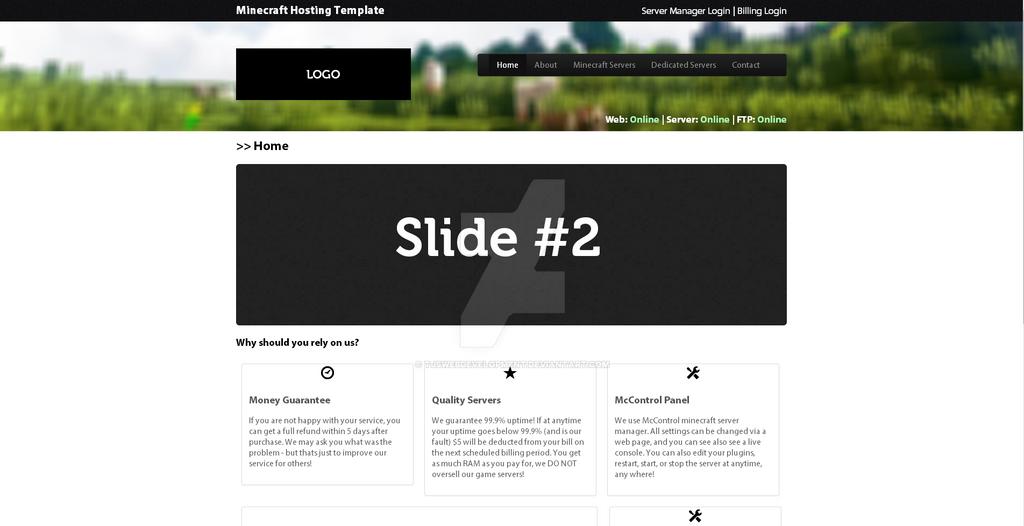 Hosting web html