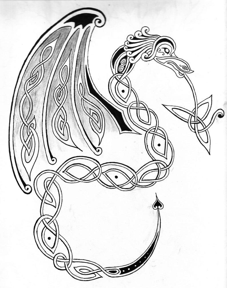 irish symbols coloring pages - photo#6