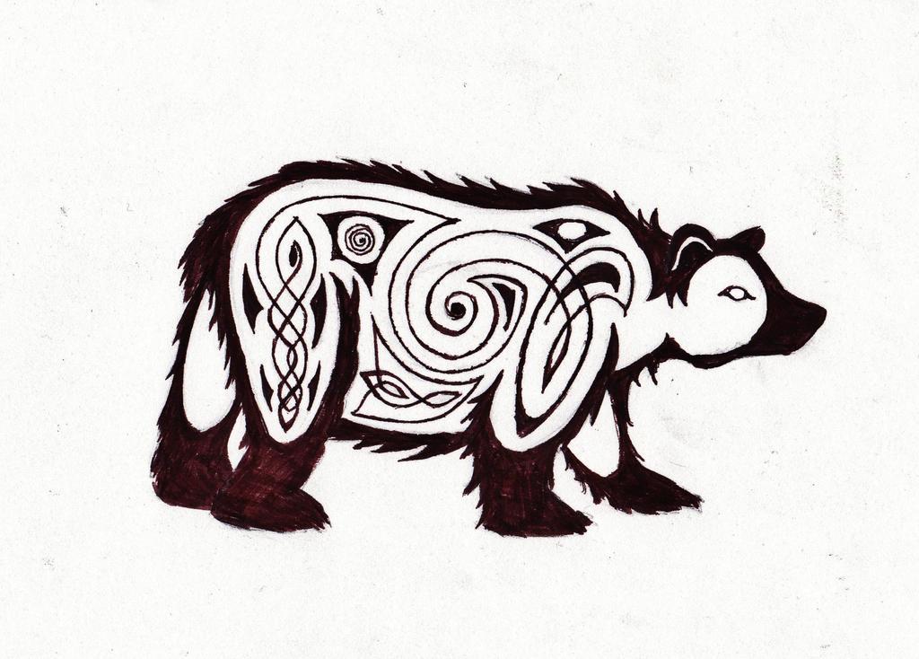 Celtic Bear By Wilykat13 On DeviantArt