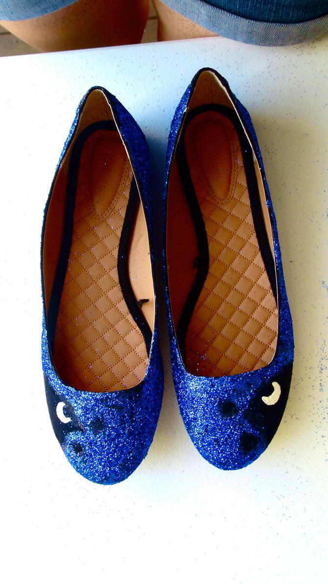 Princess Luna Shoes by eskimogeorge