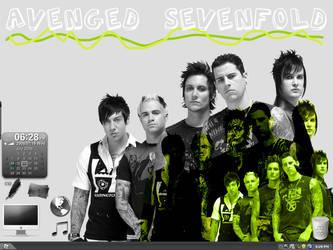 Desktop ft. Avenged Sevenfold by xXScrltXPrncssXx