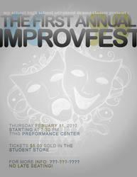 ImprovFest Flyer by xXScrltXPrncssXx