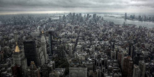 Manhattan - New York - HDR by TiKy2010