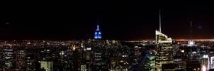 NY - top of the rock - Pano